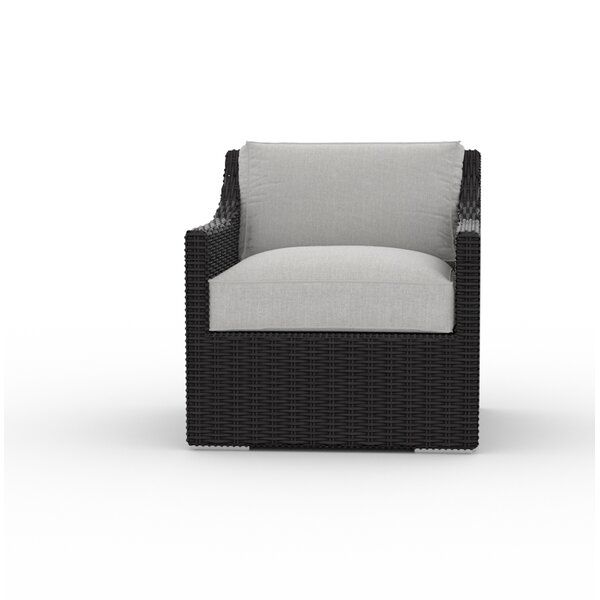 Boothby Patio Chair with Cushion by Bungalow Rose