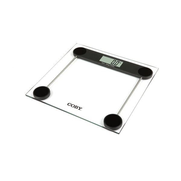 Compact Digital Bathroom Scale by COBY