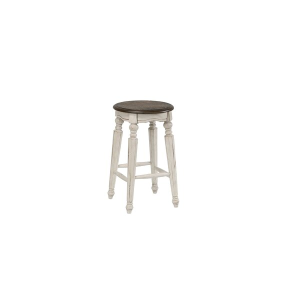 Doggett Solid Wood 24'' Counter Stool by Ophelia & Co. Ophelia & Co.