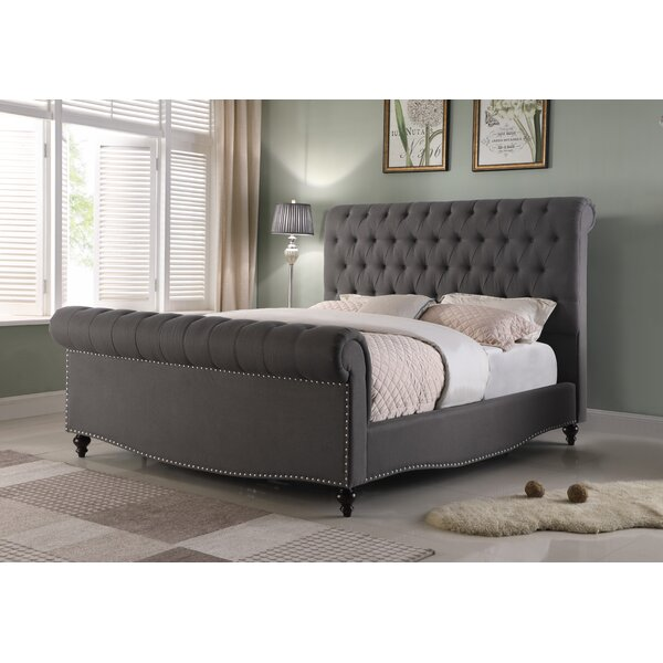 Pendle Queen Upholstered Standard Bed by Canora Grey