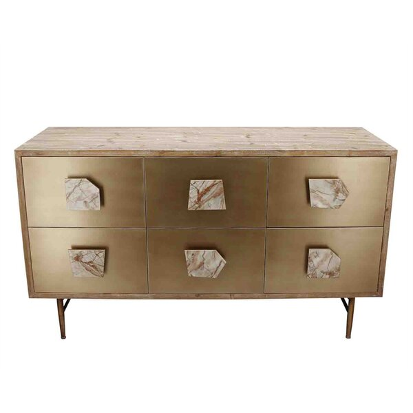 Frizzell 6 Drawer Dresser by Everly Quinn