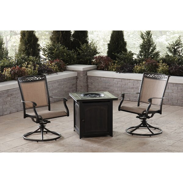 Bucher 3 Piece Seating Group by Fleur De Lis Living
