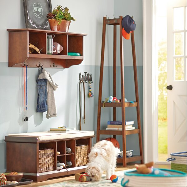 Crannell 3 Tier Tower Shoe Coat Rack by Alcott Hill
