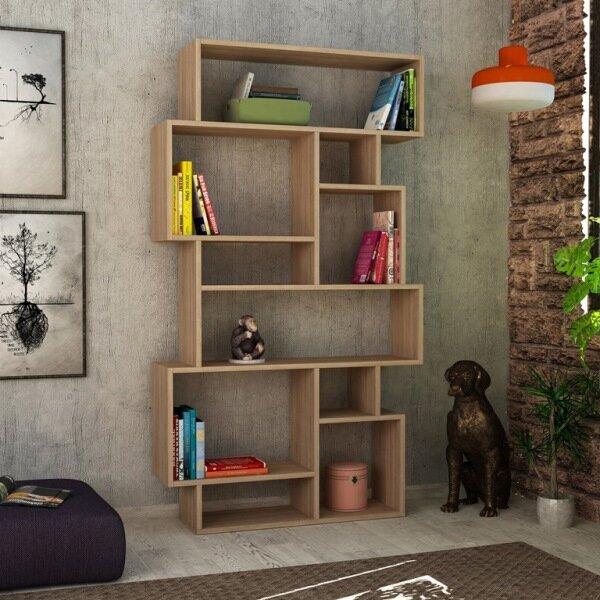 Aryan Modern Standard Bookcase by Brayden Studio
