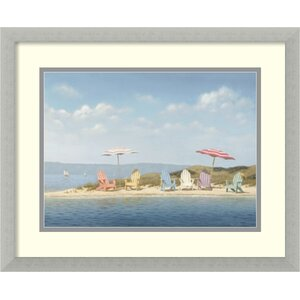 Beach Day by Daniel Pollera Photographic Print by Beachcrest Home