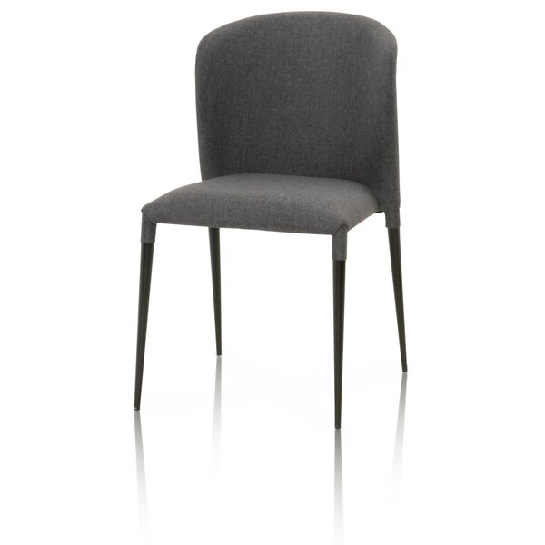Dumont Upholstered Dining Chair (Set of 4) by Wade Logan Wade Logan