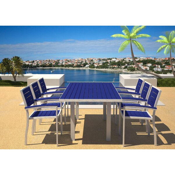 Euro 7 Piece Dining Set by POLYWOOD®