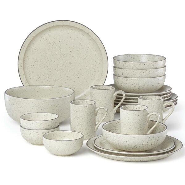 Kallan 16 Piece Dinnerware Set, Service for 4 by Dansk