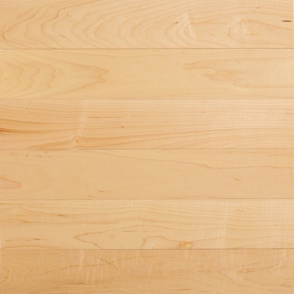 Specialty 5 Engineered Maple Hardwood Flooring in Natural by Somerset Floors