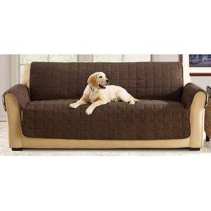 Box Cushion Sofa Slipcover  sc 1 st  Wayfair & Dual Recliner Sofa Slipcover | Wayfair islam-shia.org