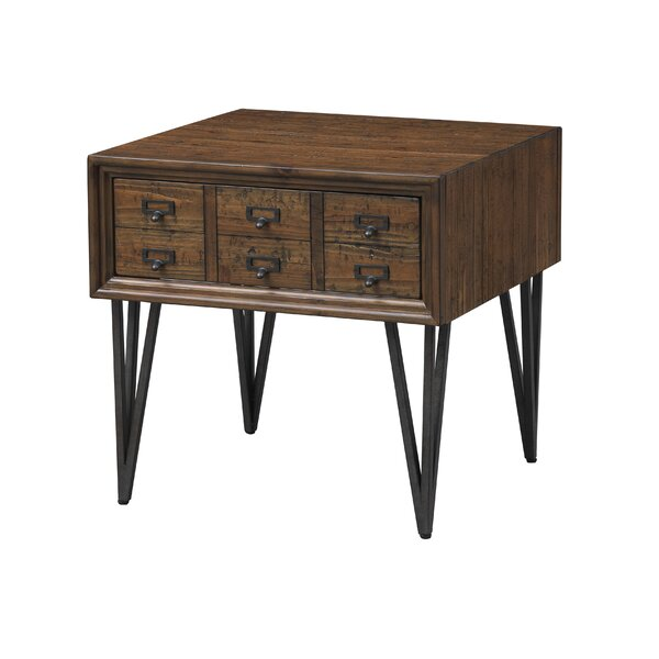 Ordaz End Table with Storage by Williston Forge Williston Forge