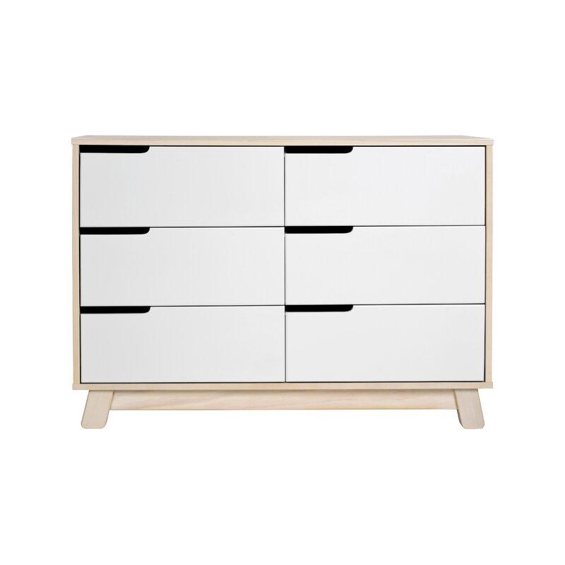 hudson 6 drawer double dresser reviews allmodern