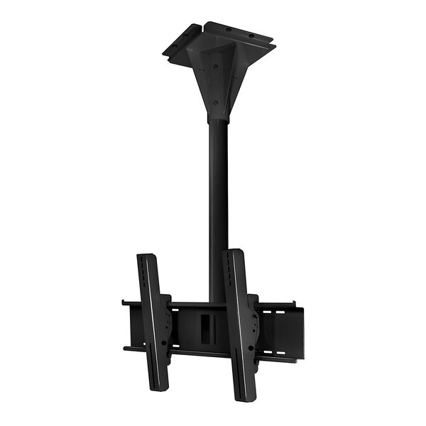 Wind Rated Concrete Tilt/Swivel Universal Ceiling Mount for 32 - 65 Screens by Peerless-AV