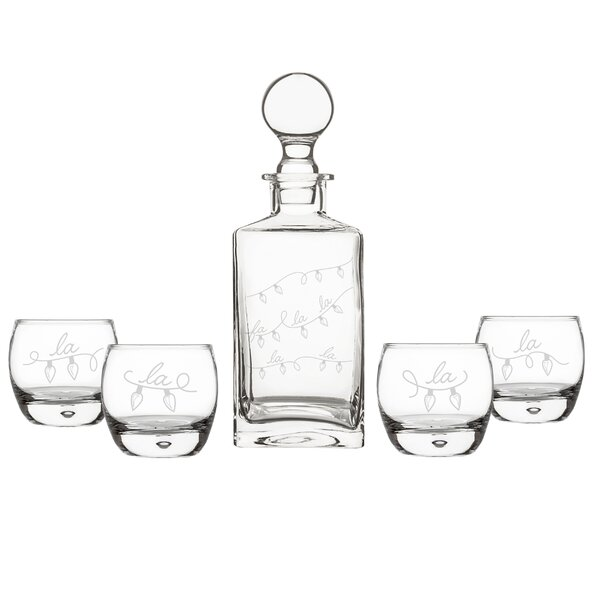 Boulton Fa La La Square Beverage Serving Set by The Holiday Aisle