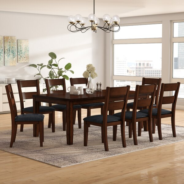 Maliana 9 Piece Extendable Dining Set by Latitude Run