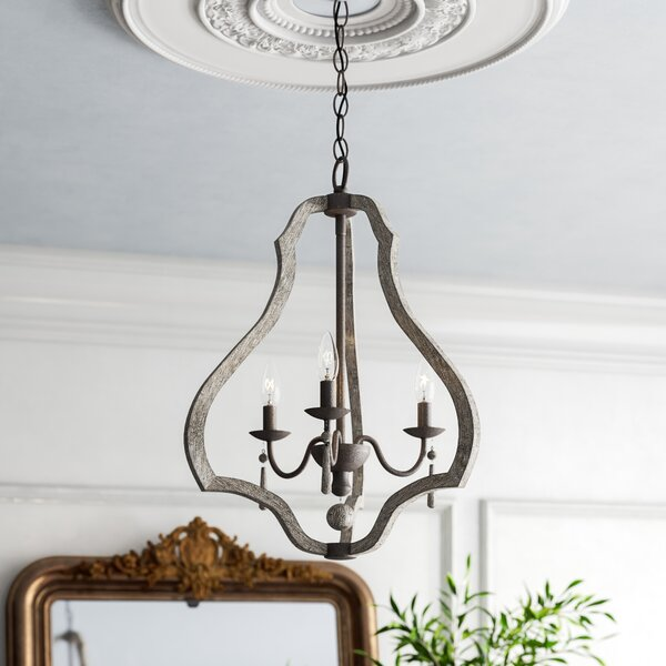 Smith 3 - Light Candle Style Empire Chandelier by Kelly Clarkson Home Kelly Clarkson Home