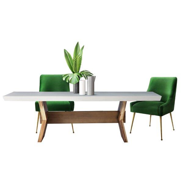 Dusek Concrete 5 Piece Dining Set by Brayden Studio Brayden Studio