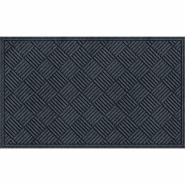 Lasseter Crosshatch Doormat by Alcott Hill