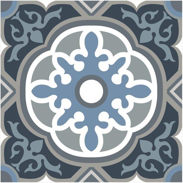Gallery 7.75 x 7.75 Ceramic Field Tile in Granada Blue by Mulia Tile