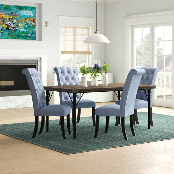 Lapeer 5 Piece Dining Set by Darby Home Co