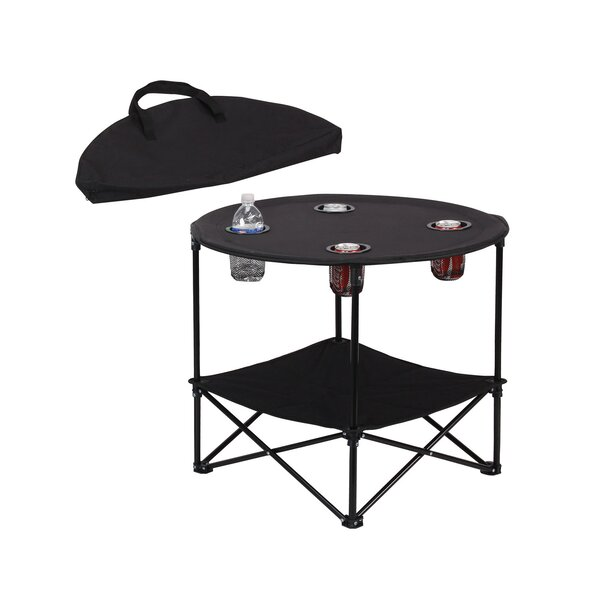 Marianna Polyester Camping Table by Freeport Park