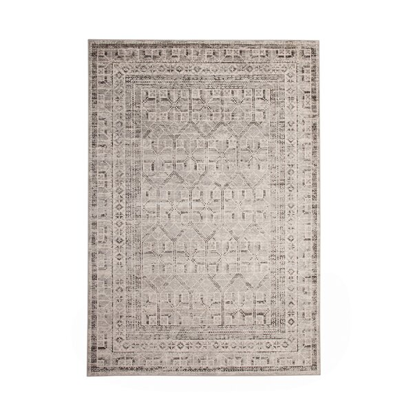 Bryzel Charcoal/Ivory Area Rug by Loon Peak