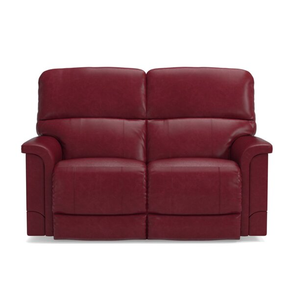 Cool Style Oscar Leather Reclining Loveseat by La-Z-Boy by La-Z-Boy