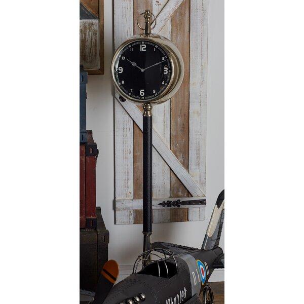 Metal 53 Floor Clock by Cole & Grey