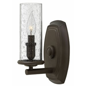 Maude 1-Light Oil Rubbed Bronze Wall Sconce