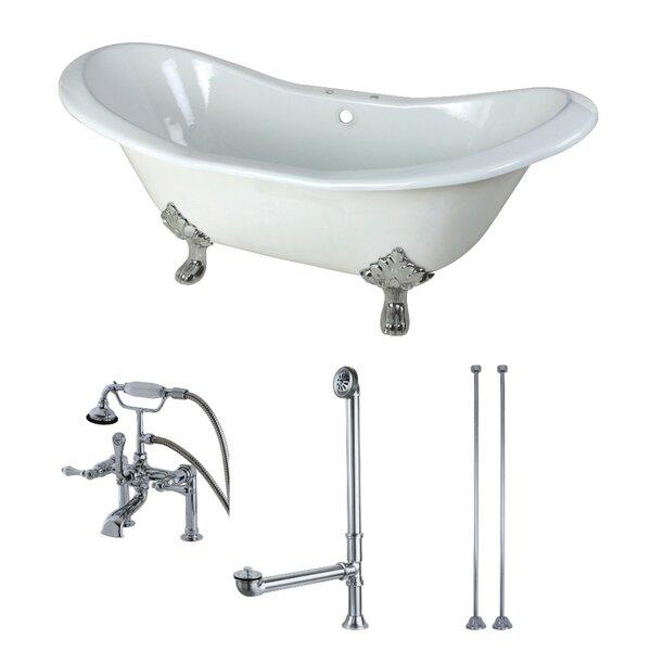 72 x 31 Clawfoot Soaking Bathtub by Kingston Brass