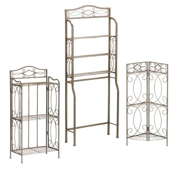 Lyon 3 Piece Bathroom Storage Set by Wildon Home ®