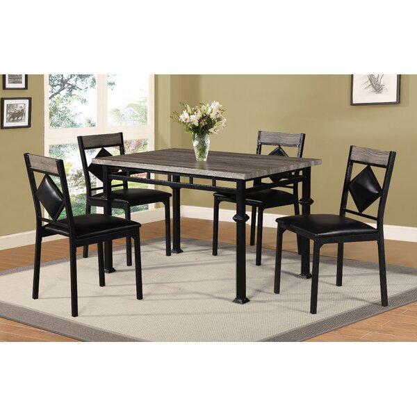 Canas 5 Piece Dining Set By Red Barrel Studio Amazing