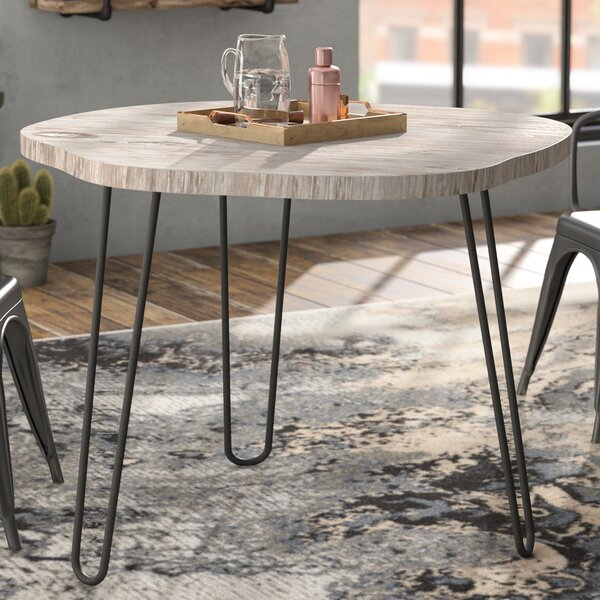 Avaline Solid Wood Dining Table by Williston Forge