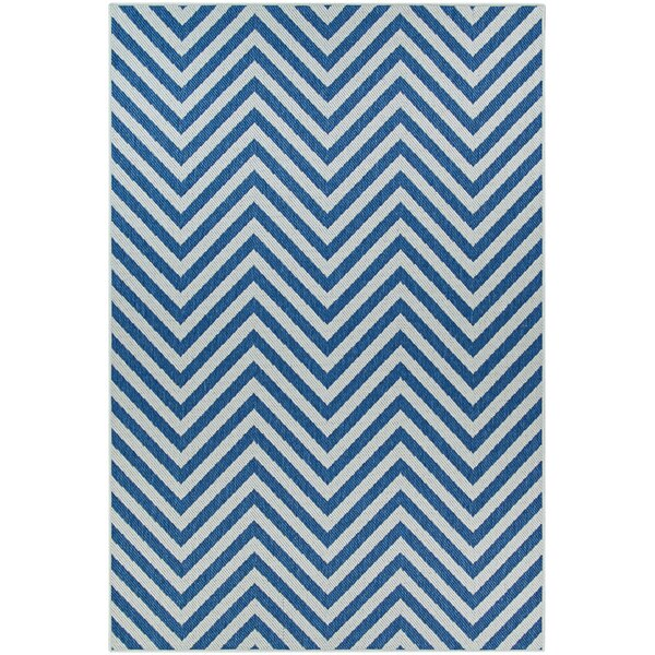 Schuler Geometric Gray Indoor/Outdoor Area Rug