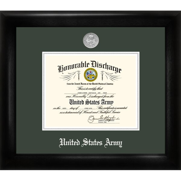 Army Discharge Picture Frame by Patriot Frames