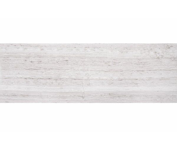 Wood Grain 8 x 24 Marble Field Tile in Gray by Parvatile