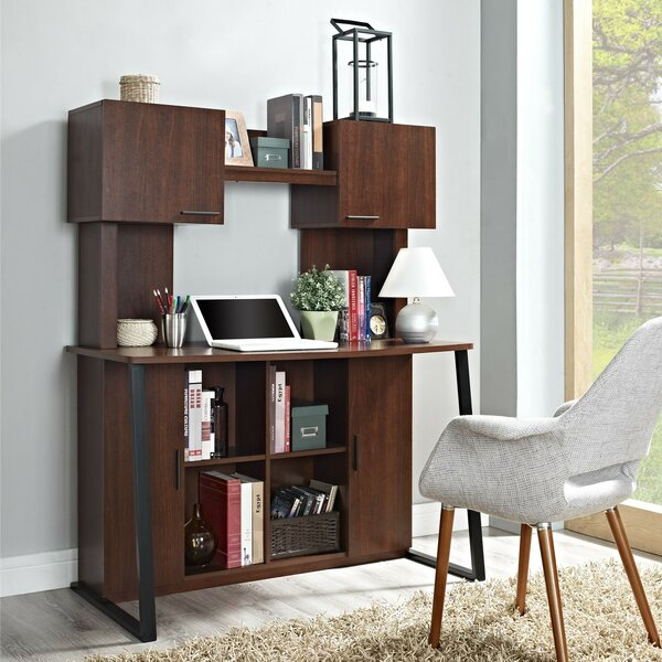 Credenza Desk with Hutch by Altra Furniture