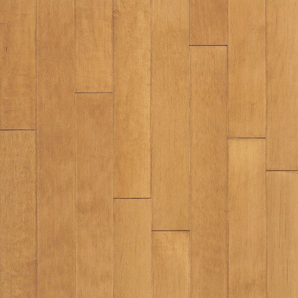 Turlington 5 Engineered Maple Hardwood Flooring in Caramel by Bruce Flooring