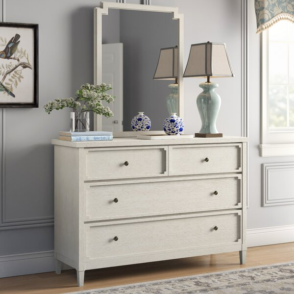 Serendipity  4 Drawer Double Dresser with Mirror by Birch Lane™ Heritage