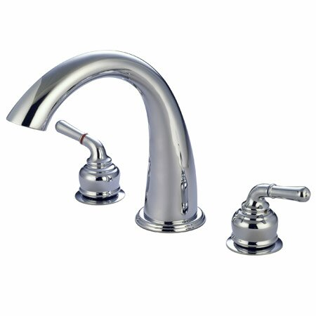St. Charles Double Handle Deck Mounted Roman Tub Faucet by Elements of Design Elements of Design