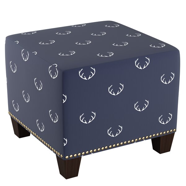 Tapia Nail Cube Ottoman by Loon Peak