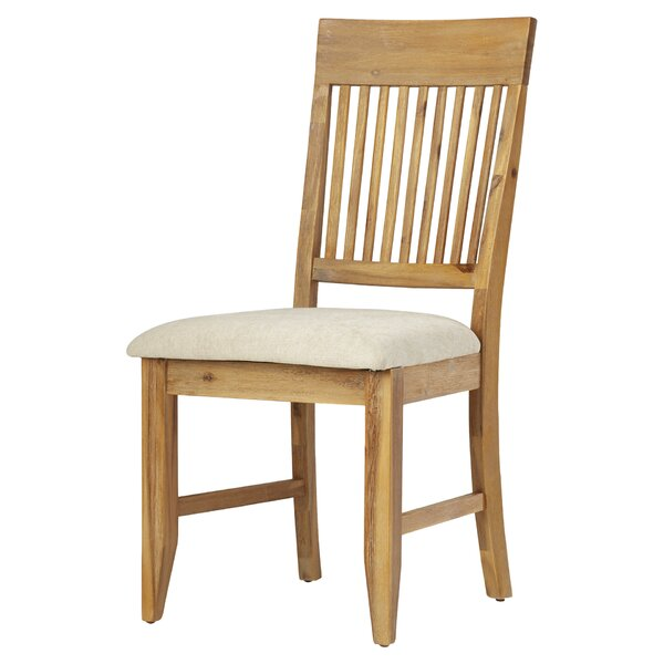 Centralia Upholstered Dining Chair (Set of 2) by Highland Dunes