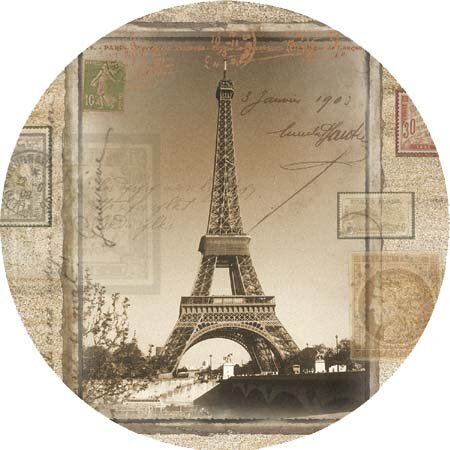 Eiffel Tower Coaster (Set of 4) by Thirstystone