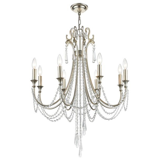 Leta 8-Light Candle Style Classic / Traditional Chandelier by House of Hampton House of Hampton