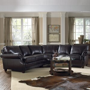Anna Leather Sectional : real leather sectional - Sectionals, Sofas & Couches