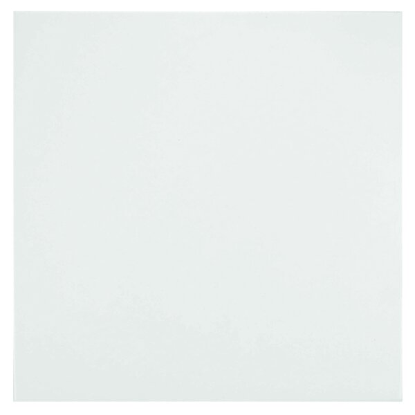 Classic 13 x 13 Porcelain Field Tile in White by EliteTile