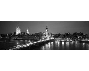England London Parliament Wall Art on Wrapped Canvas  sc 1 st  Wayfair & England Wall Art | Wayfair