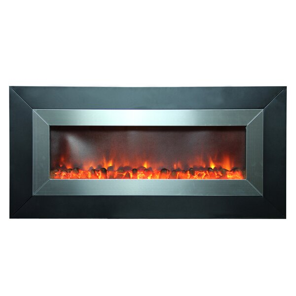 Defeo Wall Mounted Electric Fireplace by Orren Ellis