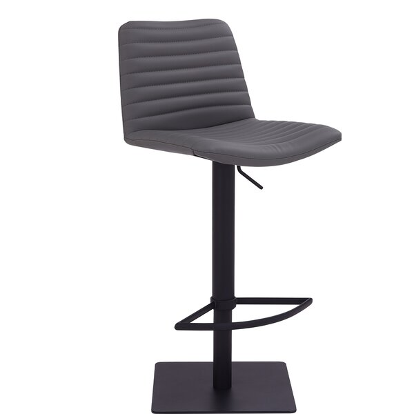 Arcene Adjustable Height Swivel Bar Stool By Latitude Run