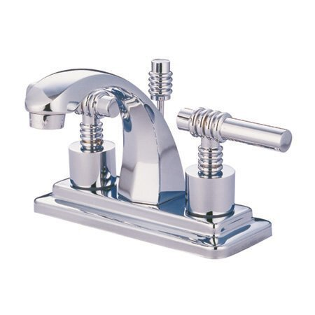 Milano Centerset Bathroom Faucet with Drain Assembly by Elements of Design